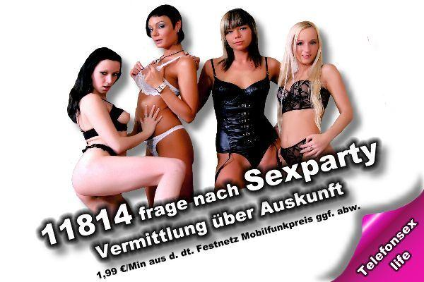 Sexparty ohne 0900